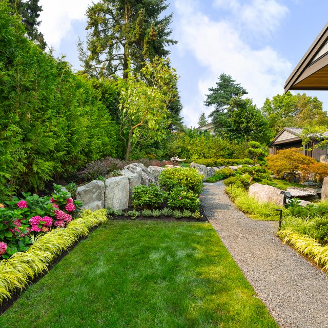 Together with Ron Rule Consultants, we have given this garden a complete  makeover and transformed it into a tranquil West Coast oasis. - Southlands Private Residence - Swick's Organic Landscaping